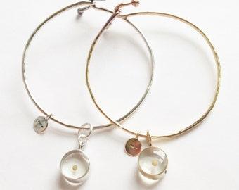 Mustard Seed Charm Bangle, Bronze Bangle, Faith Bangle Bracelet, Heirloom gift, Wedding and Christmas Gift