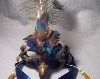 """Shyle, """"table-top mask"""" (not wearable, with apologies)"""