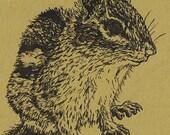 Eastern Chipmunk Card