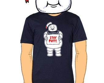 Stay Puffy Men's T-Shirt Small, Medium, Large, X-Large in 3 Colors