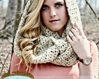 Infinity Scarf Cowl - PALERMO - Pick Your Color