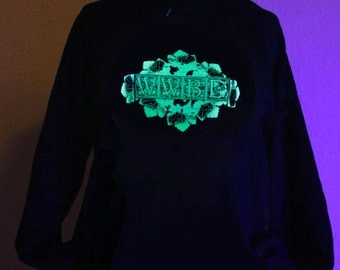 Glow in the Dark What Would Bacchus Do Hoodie S M L XL 2XL