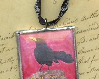 Ornament - Cherokee Language Series -  Tsisqua Gvnagei = Black Bird