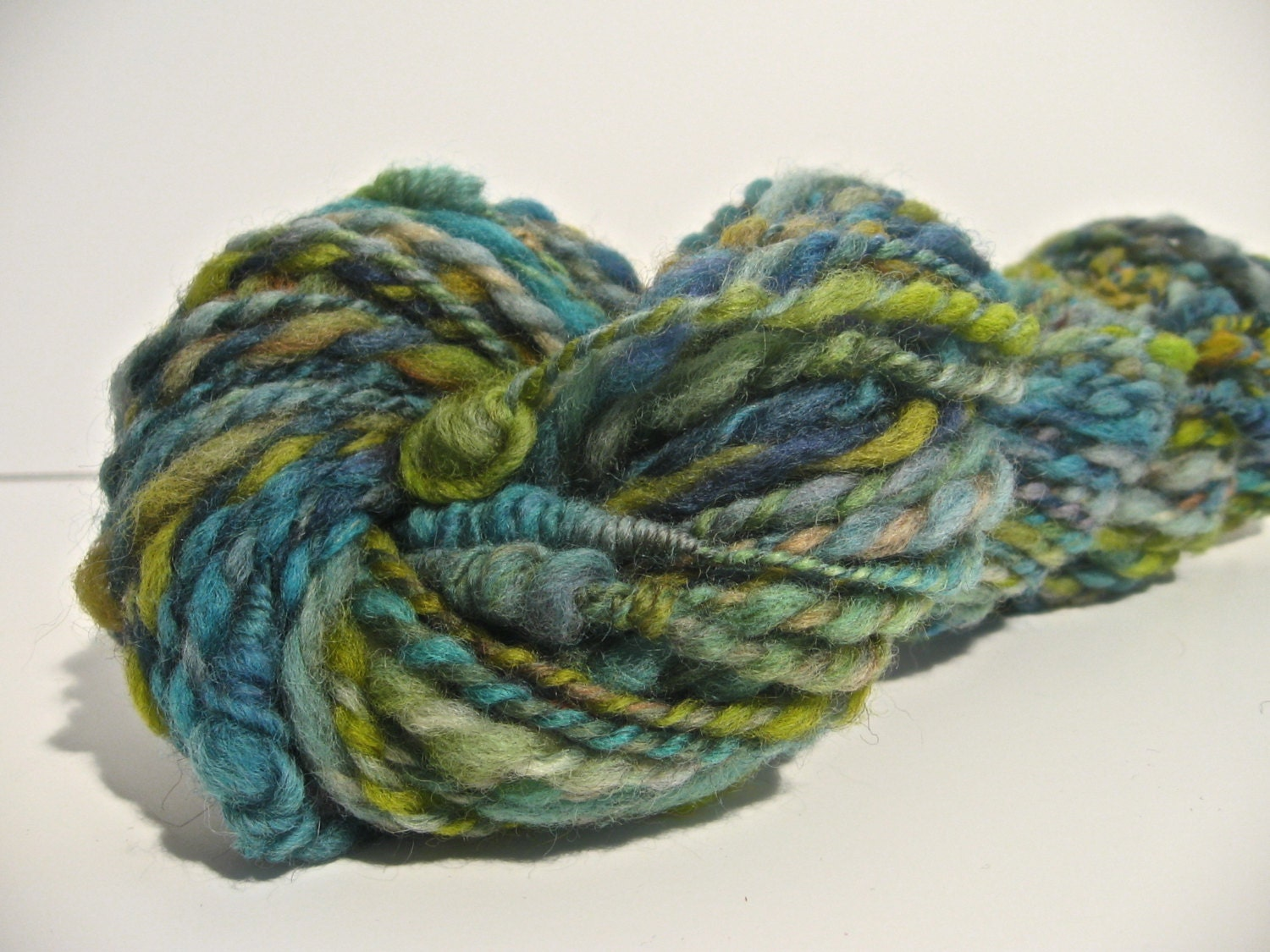 Super Bulky Yarn : Handspun Art Yarn Super Bulky Weight by spinynormanknits on Etsy