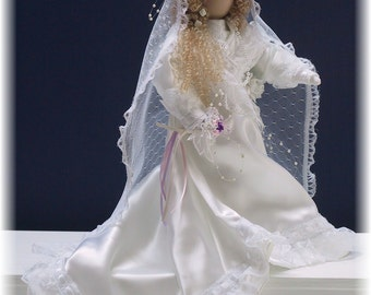 Floara Ellen  Handmade Victorian Bridal Art Doll