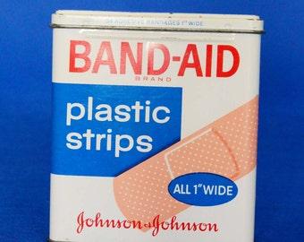 Vintage Johnson and Johnson Band-Aid Tin