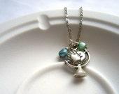Globetrotter Necklette Mini Necklace