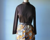 Bargain bin 60's vintage dress // ultra mod dress // patty dress