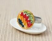 Fruit Tart Ring - Miniature Pie/Cake - Fruit Tart Collection