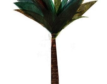 Palm tree big print
