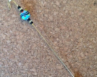 Beaded Stick Pin - Send in the clowns