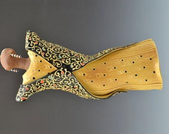 One of a Kind Dancing Diva Wall Sculpture