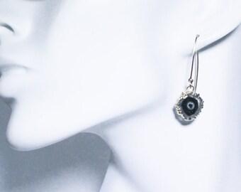 Amethyst Stalactite Crystal Earring Rare Amethyst Earring February Birthstone Raw Amethyst Stone Earring ST-E-114-022g