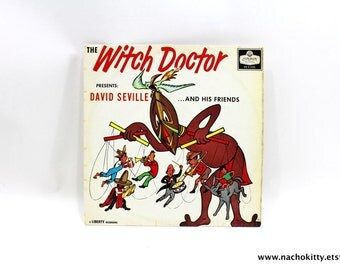 1950s Witch Doctor Presents David Seville Rare LP Record