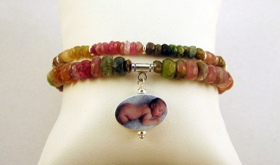 3 Pc Set - Afghan Tourmaline Necklace and 2 Bracelets - P15Set