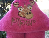 Kids Hooded bath towel. Personalized. girl toddler Beach towel. Girl. Hooded towel. baby shower/birthday gift. baby/toddler/child bath towel