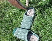 Easier Felted Clogs for Wm & Men - super comfy, easy, fast, great gift or craft show item!