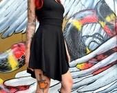 Swoop Neck Tina Dress