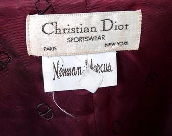 The Vintage Christian Dior Tuxedo Jacket