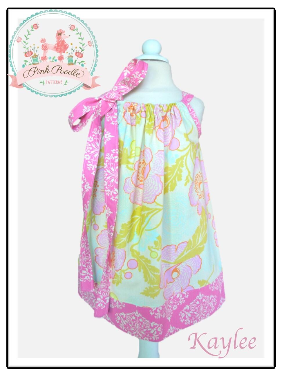 Girls Dress Pattern Pillowcase Dress Pattern Easy Sewing PDF Patterns Sewing Patterns Baby Dress Sewing Pattern 3m-8 \