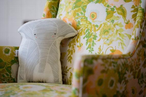 Animal Nursery Pillows : Elephant Pillow Stuffed Elephant Animal Pillow. Gifts For