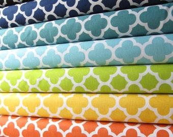Quatre Foil Fabric Half Yard Sampler Bundle - Quatrefoil by Riley Blake Designs - 5 Yards Total