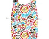 Waterproof Apron - Toddler & Primary - Colorful Paisley