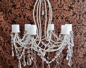 French Country Ultra Chic 6 Candle Chandelier MADE TO ORDER
