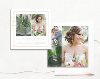 INSTANT DOWNLOAD! Wedding Photography Marketing Templates - Photography Template - Photo Flyer Design - Design By Bittersweet