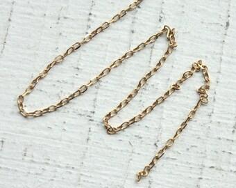 3 Feet Fine Gold Vermeil Chain M/FZLD025