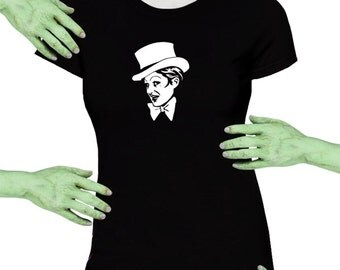 Voodoo Sugar Columbia Rocky Horror Picture Show Black Missy Fit t-shirt Plus Sizes Available