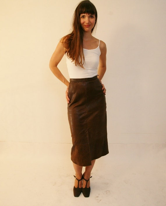 Discover women's leather skirts with ASOS. Shop for leather skirts & suede skirts and all skirt styles at ASOS. your browser is not supported. River Island faux leather midi pencil skirt in black. $ Warehouse faux leather seamed pencil skirt in black. $ ASOS DESIGN leather look wrap midi skirt with buckle belt.