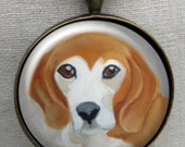 Beagle Keychain ~ Beagle Gift ~ Dog Owner Gift ~ Boyfriend Gift ~ Dog Dad Gift ~ February Birthday