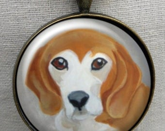 Beagle Keychain ~ Beagle Gift ~ Dog Owner Gift ~ Boyfriend Gift ~ Dog Dad Gift ~ June Birthday