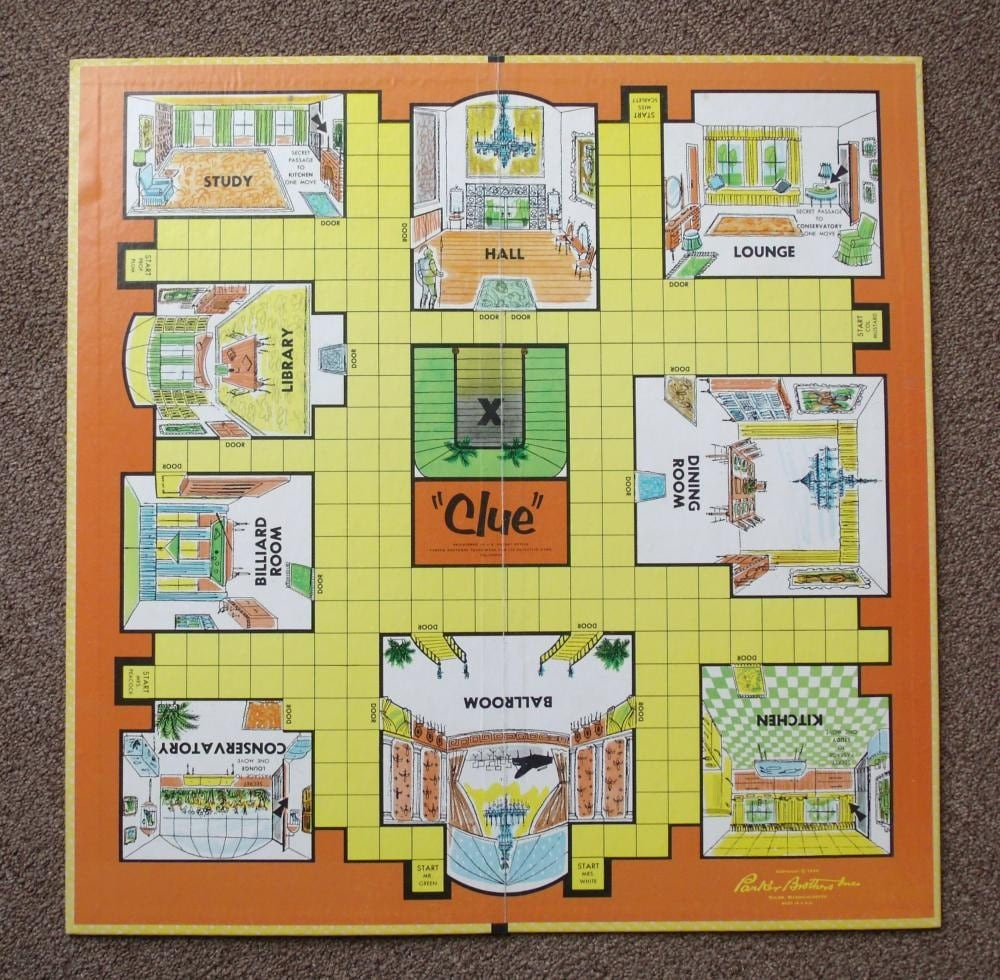 1960s Password Board Game Complete 1962  1960 Board Games List