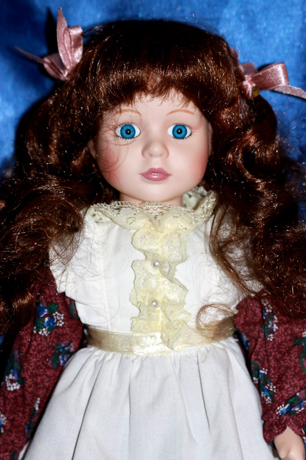 Geppeddo Doll Porcelain Vintage Collectible Z1438