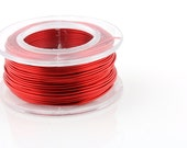 18 Gauge Red Enameled Copper Wire - 7 yard spool