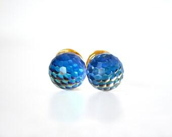 Vendome 1968 Crystal Ball Earrings