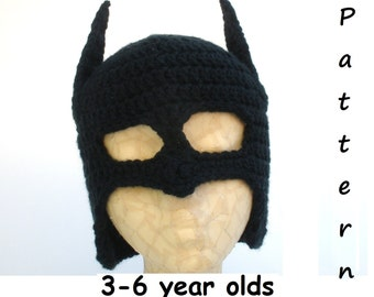 Child Pattern-Bat Hat -PDF file