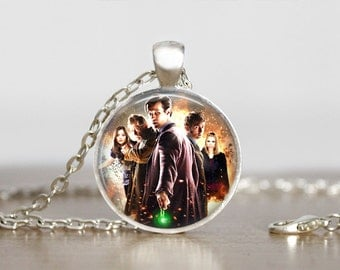 Doctor Who Image Pendant, Doctor Who jewelry  , Doctor Who pendant,  Doctor Who Necklace