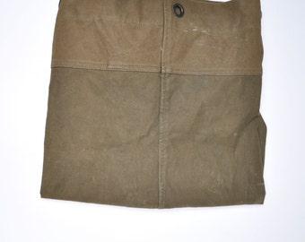 vintage duffle bag vintage duffel bag canvas tote military bag army