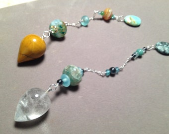 Custom Personal Pendulum  - Made to Your Inner Goddess Divine Design - Made especially and personally for you through intuitive design