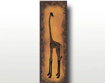 Limited Edition Giraffe Print -- From Where I Stand Print-- Only 50 Signed Available