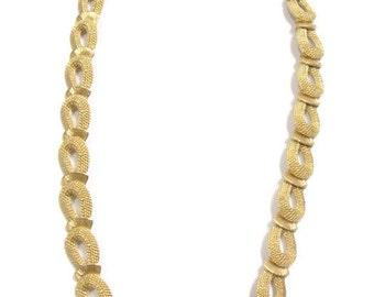 Vintage Gold Choker Necklace