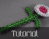 Chainmaille Flower Tutorial