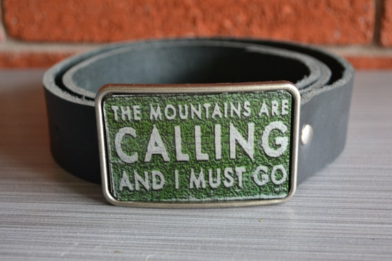 Mountain Lovers   Belt Buckle