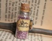 Glass Vial Potion Harry Potter Amortentia Necklace