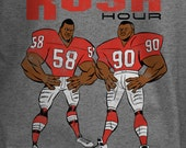 Rush Hour - Derrick Thomas Neil Smith Vintage KC Chiefs inspired shirt