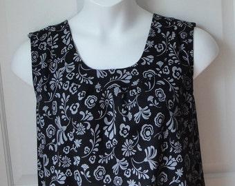 S -- Post Surgery Shirt - Shoulder, Breast Cancer, Mastectomy, Heart / Special Needs / Adaptive Clothing / Rehab/ Breastfeeding-Style Sara