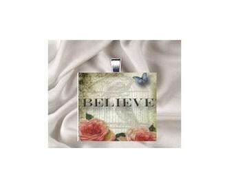 Pendant Necklace Inspirations, Believe